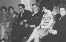 Nauczyciele: Eugenia Zapisek, Małgorzata Chodunaj, Apolinary Zapisek, Eliasz Sosna, Barbara Kreutzinger, Witold Minksztym