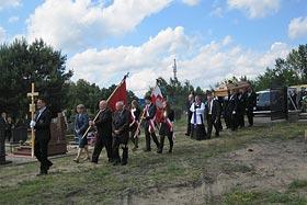 Kondukt żałobny zmarłego. Foto: Marek Hryczuk