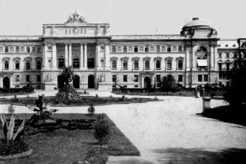 Uniwersytet Jana Kazimierza we Lwowie. Źródło: internet
