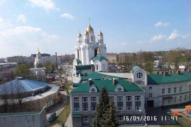 Fot.12. Cerkiew prawosławna w Centrum Kaliningradu