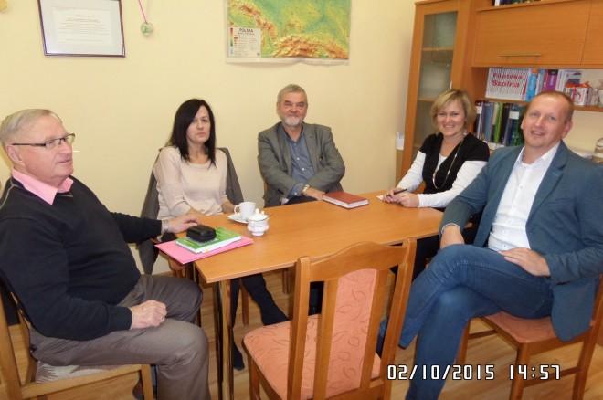 Fot. 14. Posiedzenie komitetu organizacyjnego XI Zjazdu Absolwentów